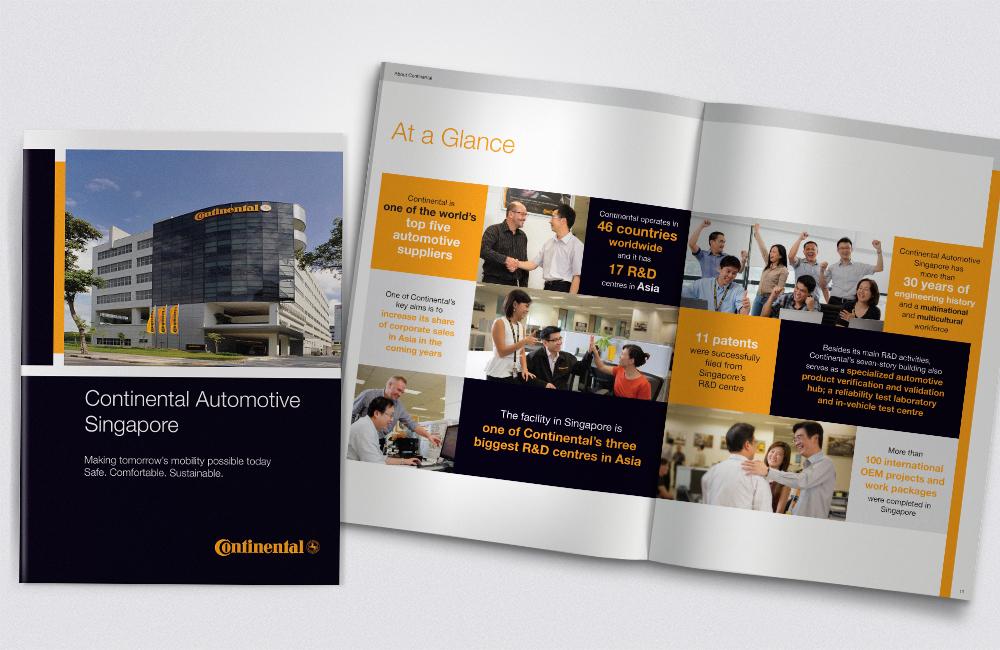 Continental Automotive Brochure - Artnexus Design