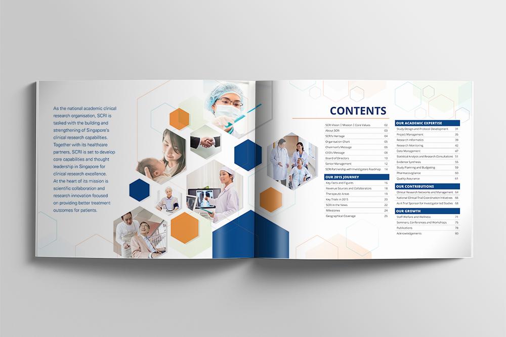 Singapore Clinical Research Institute Annual Report - Artnexus Design