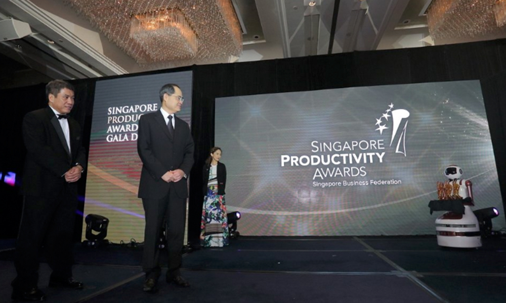 Singapore Productivity Logo - Artnexus Design